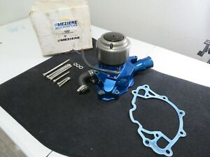 Meziere Wp312b Electric Water Pump 55 Gpm Serpentine For Ford Mustang Foxbody V8