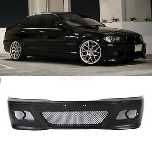 For Bmw E46 M3 Style Front Bumper Covers 1999 05 Sedan Wagon