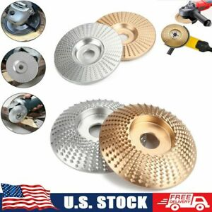 Carbide Wood Sanding Carving Shaping Disc For Angle Grinder Grinding Wheel 100mm