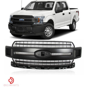 Fits Toyota Tacoma 2012 2015 Trd Style Front Upper Grille Grill Matte Black