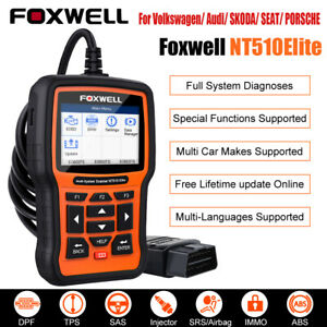 For Vw Audi Obd2 Full System Diagnostic Tool Abs Srs Epb Tpms Dpf Oil Reset Scan