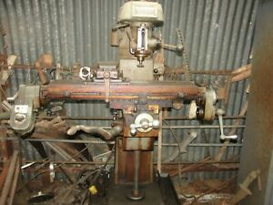 Clausing Vertical Milling Machine With Power Feeder