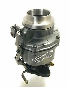 Chevy Gmc Rochester 1 Barrel Carburetor 235 Engine Manual Choke