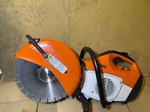 Stihl Ts420 2 stroke Petrol 14 Cut Off Saw Disc Cutter