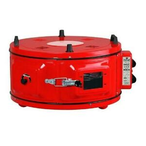 Commercial Round Bench 220v Drum Oven bakery Oven Cake Snack Cookie Roaster Pizz