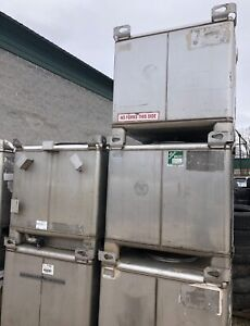 Stainless Steel Tote Tanks Ibc Container Tote 350 Gallon