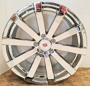 Set Of 4 Factory Style Cadillac Chrome 18 X 8 Wheels Fit Cadillac Cts Ct5