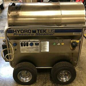 Used Hydrotek Hp30004e2 Electric diesel 4gpm 3000psi Hot Water Pressure Washer