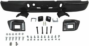 New Black Rear Bumper Assembly For 2002 2009 Ram 1500 2500 3500 Ships Today