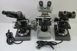 Lot Of 3 Microscopes 2x Swift Series 1000 Spi Southern Precision
