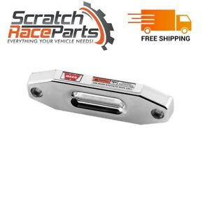 Warn Winch Fairlead For Synthetic Rope 73852 Polished Aluminum Hawse Style
