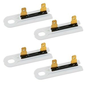 Dryer Thermal Fuse Replacement For Whirlpool Kenmore And Maytag 3392519 4 Pack