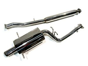 Obx rs Stainless Catback Exhaust For 1998 2003 Subaru Impreza Rs 2 5l Ej25