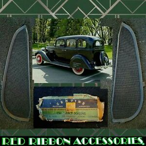1934 1930s Gm Accessories Chevrolet Cv Insect Screens Coupe Sedan Vent Windows