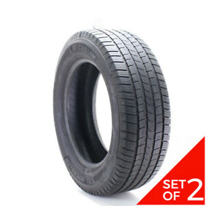 Set Of 2 Used 275 60r20 Michelin Defender Ltx M s 115t 7 8 32