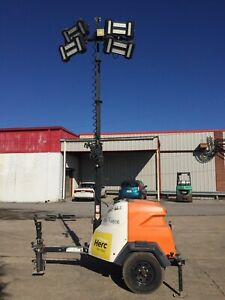 2016 Generac Mlt6s Led Light Tower Generator 6kw Ccr14577
