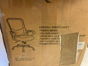 Used Office Chair Ergonomic Desk Chair Computer Task Chair Mesh With Armrests