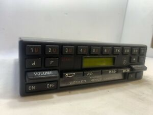 Mercedes Becker Mexico 628 Cassette Player Radio Stereo Rare Euro Video Tested
