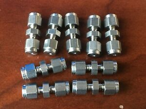 ss 100 6 Swagelok 1 16 Stainless Steel Union Fitting
