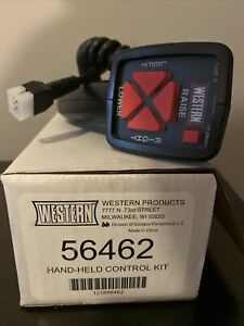 Western Oem Hand Held Snow Plow Control New 56462 6 Pin Controller