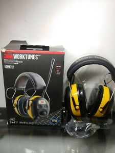 3m Worktunes Hearing Protector With Am fm Digital Radio