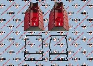 1958 Buick Special Century Tail Light Lenses With Gaskets Set New Pair