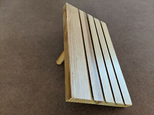 Wood Paying Card Holder Stand S s Worldwide 9 5 x5 5 4 Rows