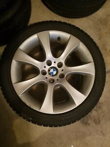 Oem Bmw 18 Inch Staggered Wheels Rims Tires 545i 535i 528i 750i 650i Style124