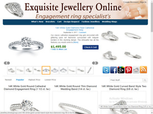 Jewelry Website Best Affiliate Income Free Installation Free Hosting