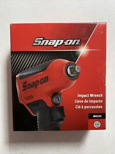 New Snap On 3 8 Drive Super Duty Magnesium Air Impact Wrench W Boot Mg325
