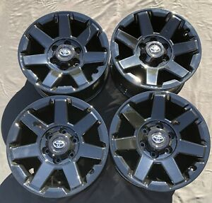 4 New Glossy 17 Toyota Tacoma 4runner Fj Cruiser Oem Wheels Rims 75154