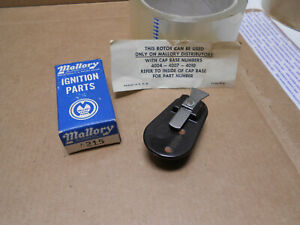Nos Vintage Mallory Yl Distributor Rotor 4215 Chevy Ford Mopar 4004 4007 4010