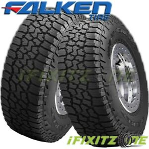 2 Falken Wildpeak A T3w Lt265 70r17 121 118s All Terrain Any Weather 55k Mi Tire