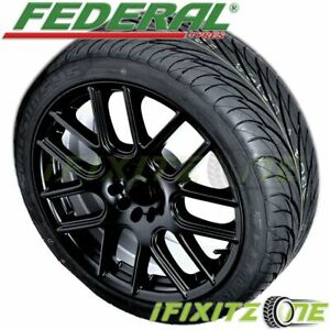 Federal Ss595 225 35zr19 84w Uhp All Season Traction Performance Tires
