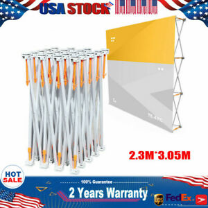 230mm X 305mm Pop up Booth Frame Trade Show Display Stand Backdrop Office Stage