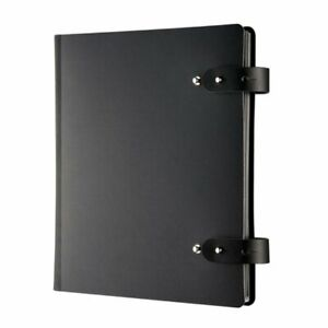 Prat Pampa 163 Spiral Book Soft Bonded leather Cover With 10 Sheet Protectors
