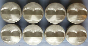 Speed Pro Chevy 350 383 Hypereutectic 3 5cc Dome Pistons Moly Rings 11 4 1 060