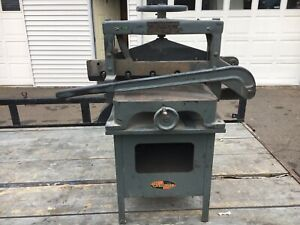 1930 s Challenge Machinery Guillotine Paper Cutter Adv Model B series Usa