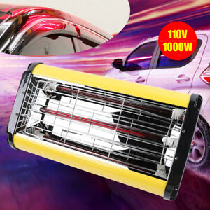 1000w Spray Baking Booth Infrared Paint Curing Lamp Heating Light 650 500mm