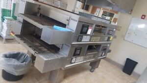 Used Middleby Marshall Ps770g Wow Double Conveyor Pizza Oven