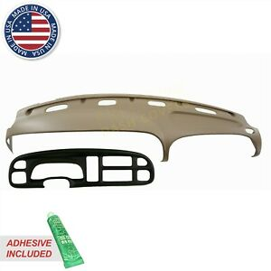 Dash Cover Dodge Ram Molded Skin Overlay With Bezel Cover 99 00 01 Camel k9