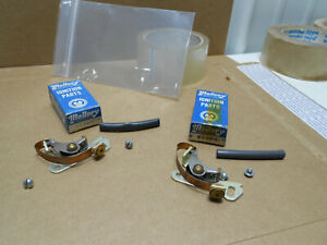 2 Nos Vintage Mallory Yl Distributor Points Real Duel Point Set Chevy Ford Mopar