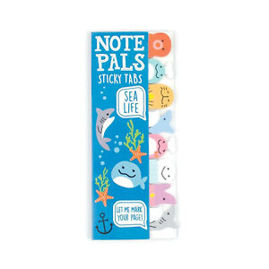 Ooly Note Pals Sticky Tabs Sea Life
