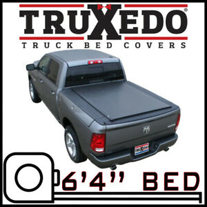 Truxedo Lo Pro Tonneau Bed Cover For 2012 2018 Ram 1500 6 4 Bed W Rambox