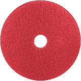 12 Red Floor Cleaning Pad For Oreck And Bissel Floor Machines
