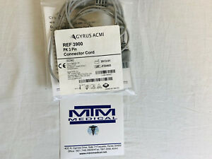 3900 Gyrus Acmi Pk 3pin Connector Cord