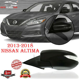 Power Mirror Manual Folding Left Driver Side For 2013 2018 Nissan Altima Sedan