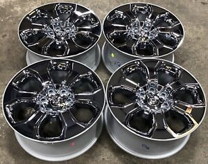 2019 21 Dodge Ram 1500 20 Chrome Clad Factory Oem Wheels Rims 2679 2456