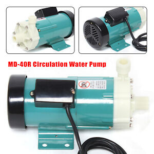 Mp 40r High Temp Magnetic Brewing Water Pump Chemical Industry Plastic Head
