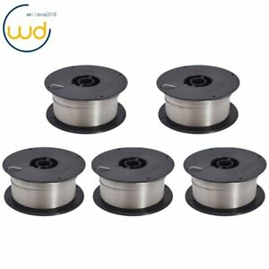 5 pk Stainless 308l Mig Welding Wire Er308l 045 1 2mm 2 lb Roll